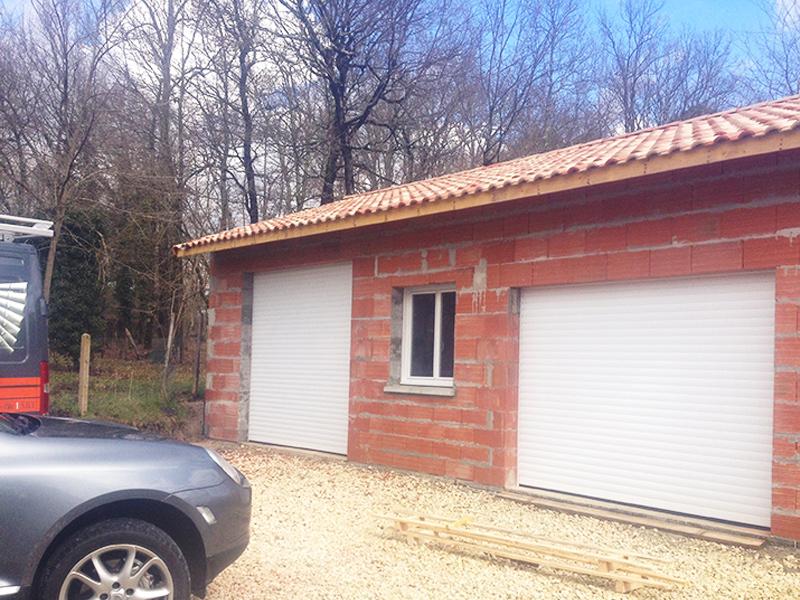 pose de porte de garage Gironde
