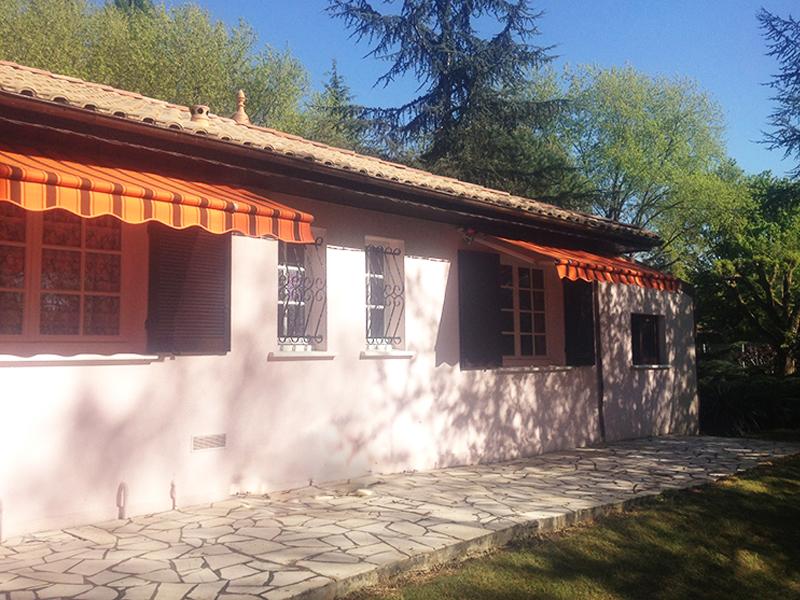 pose store maison terrasse Gironde